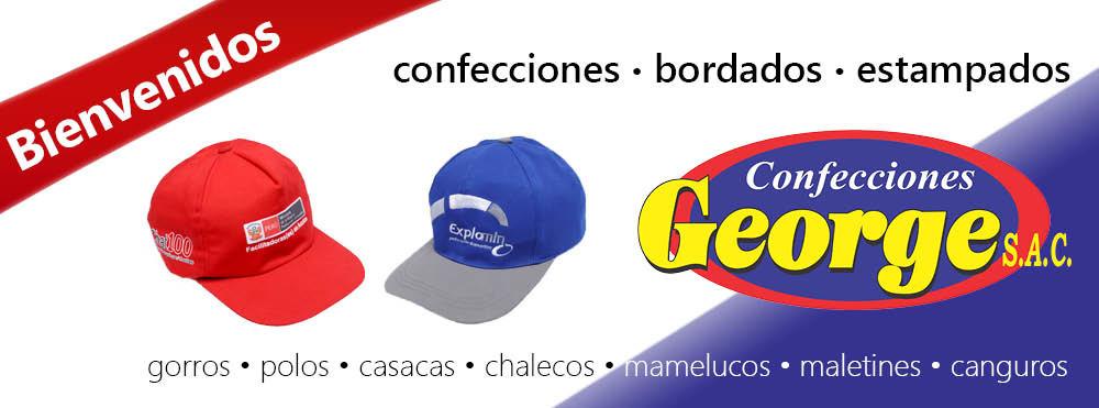 Confecciones George | Gorros Publicitarios