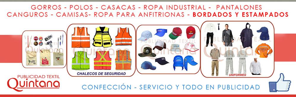 Publicidad Textil Quintana