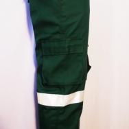 pantalones drill cinta reflectiva 3