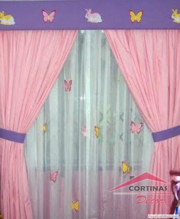 Cortinas decor fabricantes confeccionistas de ropa en for Cortinas para dormitorios de ninos