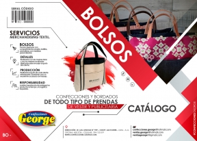 CATALOGO BOLSOS