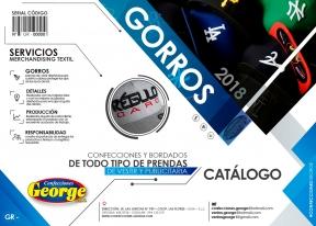 CATALOGO GORROS